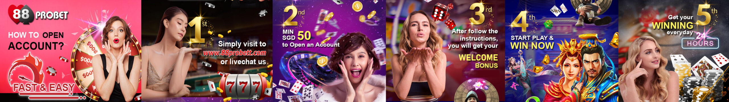 How to Open an Account in 88Probet