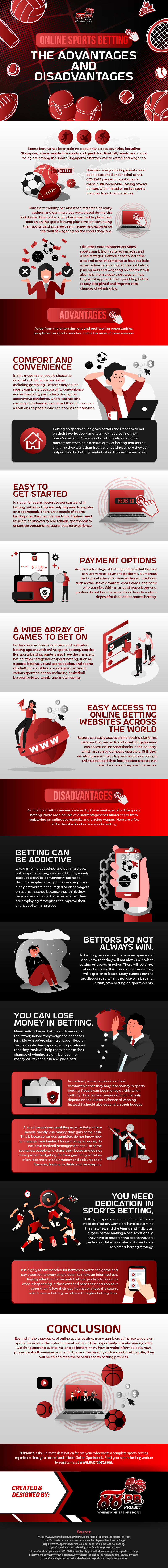 Online Sports Betting: The Advantages and Disadvantages