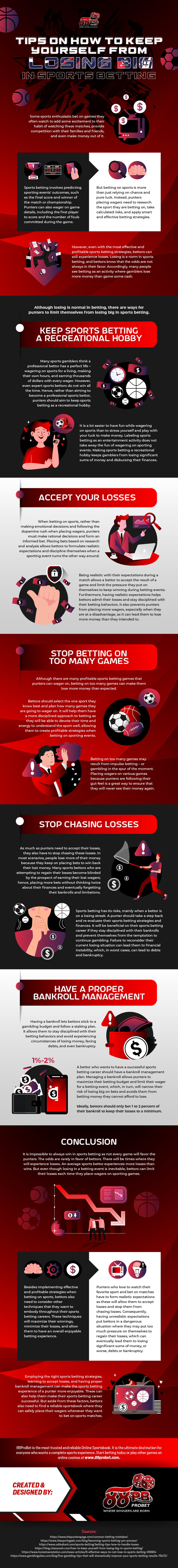 Tips on How to Keep Yourself from Losing Big in Sports Betting