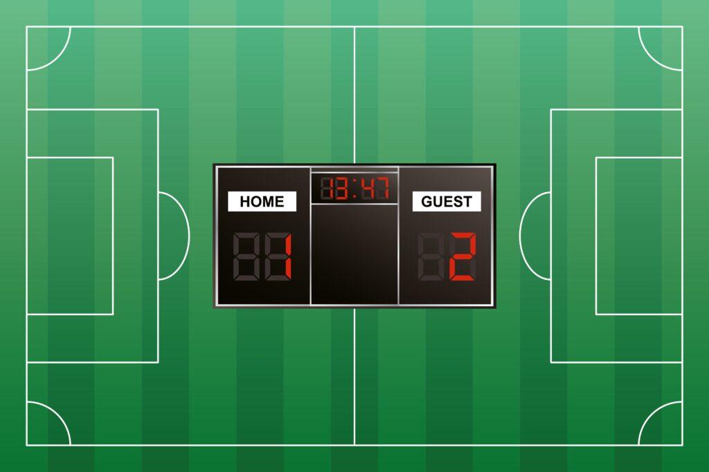 Sports Betting Markets - Correct Score